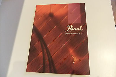 NEW 1990 Pearl Drums Professional Series Catalog