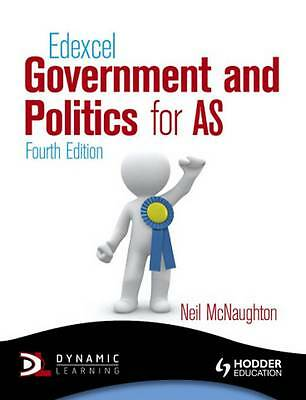 Edexcel Government and Politics for AS by Neil McNaughton (Paperback, 2012)