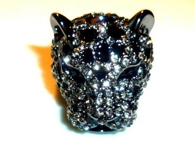 Marken Schmuck, exklusiver PANTHERA Ring von ROCK by SWEDEN, 5 tag