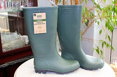 Town & Country ORIGINALS FULL Length Wellington Boots SIZE 7 EUR40-41 WATERPROOF