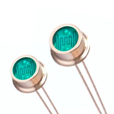 20 X Photoresistor , Infrared Rejection , Photocell , Light Dependent Resistor