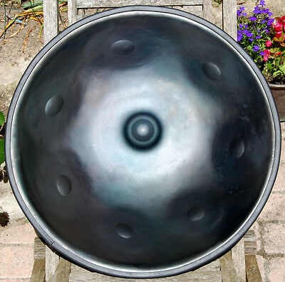 Handpan Totem music  ,gamme integral (integral scale) ,7 notes.