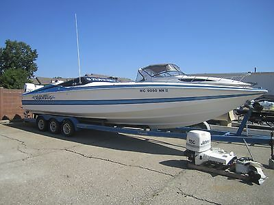 TEMPEST 32 EUROPA!! Freshwater Classic Offshore w/Trailer. NO RESERVE!