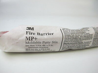 3M Fire Barrier Moldable Putty Stix MP+ (Lot of 2)