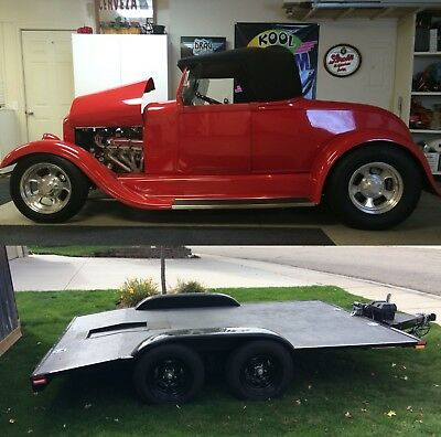1928 Ford Model A Roadster 1928 Ford Roadster and Car Hauler/Trailer