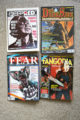 Deep Red, The Dark Side, Fangoria and other horror magazines.