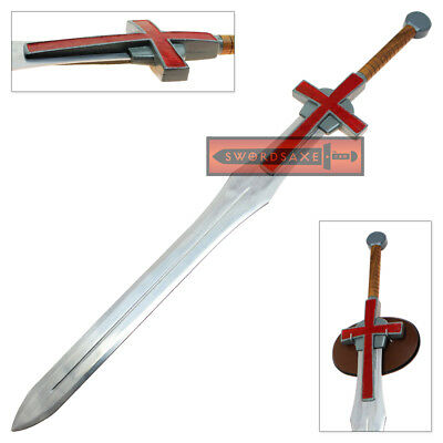 Viking Knights Holy Templar Crusader Sword Cross Greatsword Officially Licensed