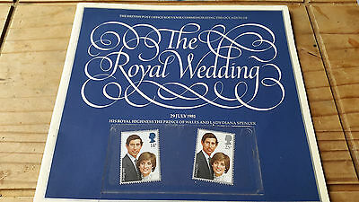 Royal Wedding Stamps. Charles And Di. 1980's
