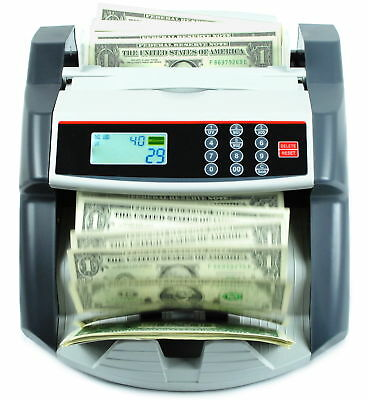NEW MONEY BILL CASH COUNTER BANK MACHINE COUNT CURRENCY USD DIGITAL UV Ma