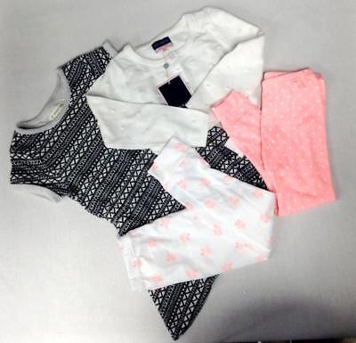 4 Lot tucker ivory dress/andy & evan white sweater carter's pants toddlers 3T