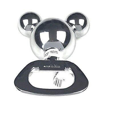Disney Parks Mickey Mouse Icon Stainless Steel Bottle Opener