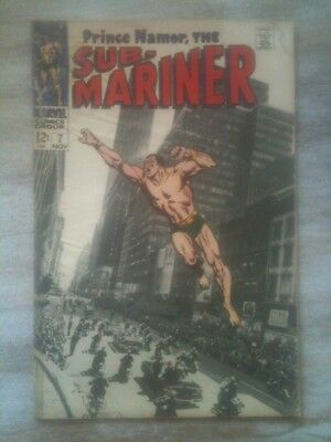 Prince Namor, The Sub Mariner #7 Marvel 1968 (First Series) Death Of Destiny