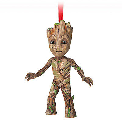 Disney Store 2017 Guardians of the Galaxy Root Sketchbook Ornament New with Tags