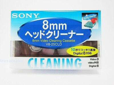 V8-25CLD / SONY head cleaning cassette (for Hi8/digital 8/8 mm video)From Japan