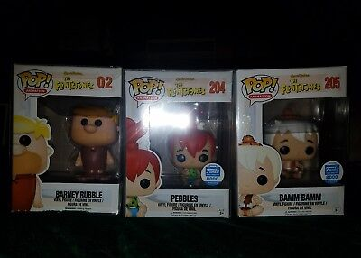 Funko Pop! Flinstones Lot