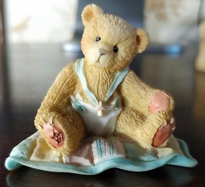 Cherished Teddies A GIFT TO BEHOLD 1997 Priscilla Hillman Enesco Numbered