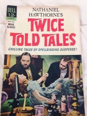 TWICE TOLD TALES  Movie Classic! Photo Cover Dell 1963 Nathaniel Hawthorne