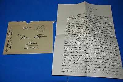 1918 World War, German Captain Field Post Vintage old Letter WWI, Antique yy 21