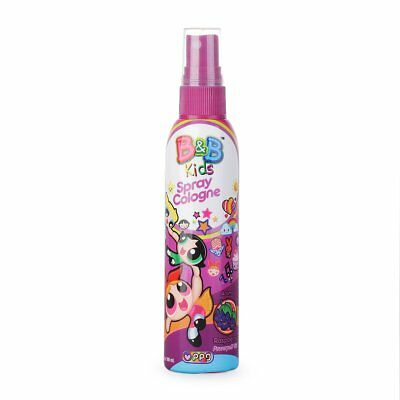 B&B Kids Children Spray Cologne Powerpuff Girl Fresh Aroma - Raspberry 100ml VV