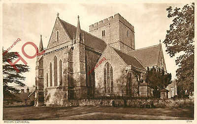 Picture Postcard- Brecon Cathedral