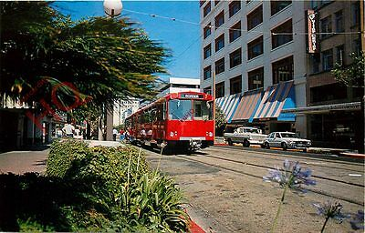 Picture Postcard- SAN DIEGO TROLLEY