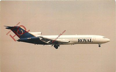Picture Postcard- Royal Boeing 727