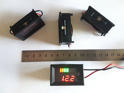 12V Battery Capacity Charge Level Indicator Meter Voltmeter