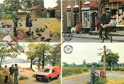 Picture Postcard: Royal Mail, Rural Postmen