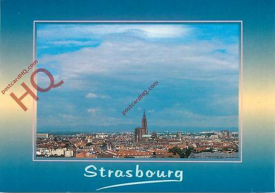 Picture Postcard: Strasbourg, Panoramic View