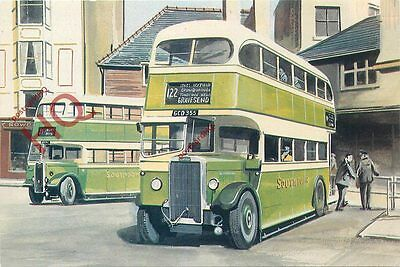 Picture Postcard: SOUTHDOWN BUSES
