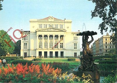 Picture Postcard: The Latvian State Academic Theatre, Riga