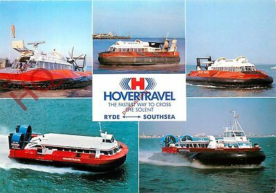 Picture Postcard::HOVERCRAFT, HOVERTRAVEL, RYDE-SOUTHSEA (MULTIVIEW)