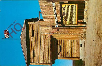 Picture Postcard::Fort Macleod Blockhouse