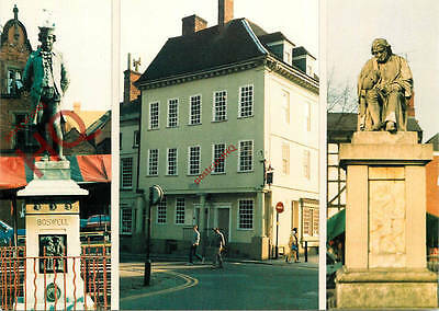 Picture Postcard::Lichfield (Multiview) Statues
