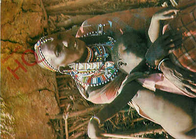 Picture Postcard::Masai Woman With Child