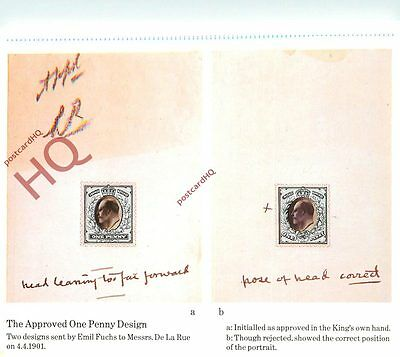 Picture Postcard::National Postal Museum, The Approved One Penny Design