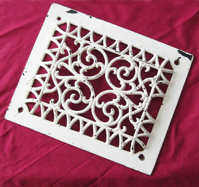 Antique~Ornate~Cast Iron~Victorian HEATER GRATE/VENT~Uniquely Decorative!