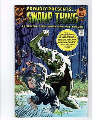 DC Special Series #2 (DC Sept 1977) Swamp Thing Wein Wrightson BRONZE AGE  VF/NM