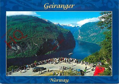 Picture Postcard-:Geiranger