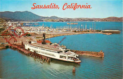 Picture Postcard:-FERRYBOAT BERKELEY, SAUSALITO
