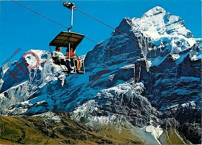 Picture Postcard:-Grindelwald, Firstbahn, Chairlift