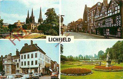 Picture Postcard:-Lichfield (Multiview)