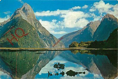 Picture Postcard-:Milford Sound, Reflections