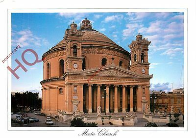 Picture Postcard:-Malta, Mosta Church