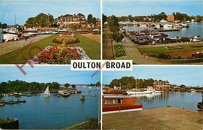 Picture Postcard-:Oulton Broad (Multiview)