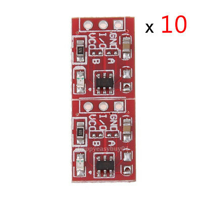 10pcs TTP223 Capacitive Touch Switch Button Self-Lock Module Board For Arduino