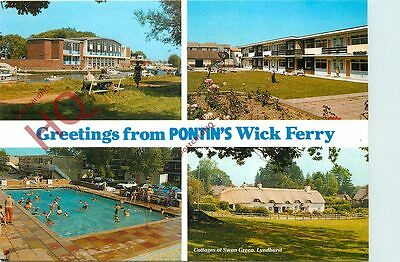 Picture Postcard-:Pontin's, Wick Ferry (Multiview)