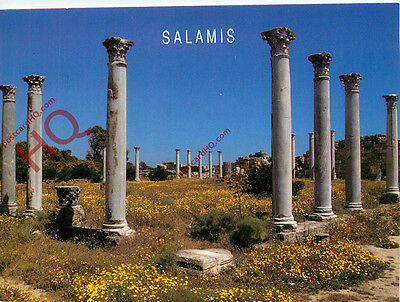 Picture Postcard:-Salamis, Columned Courtyard of the Gymnasium