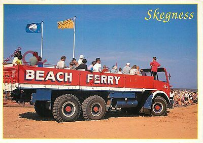 Picture Postcard:-Skegness Beach Ferry