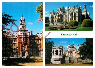 Picture Postcard:-Thoresby Hall (Multiview)